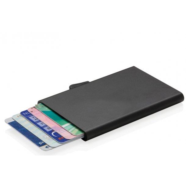 C-Secure RFID kortholder - sort