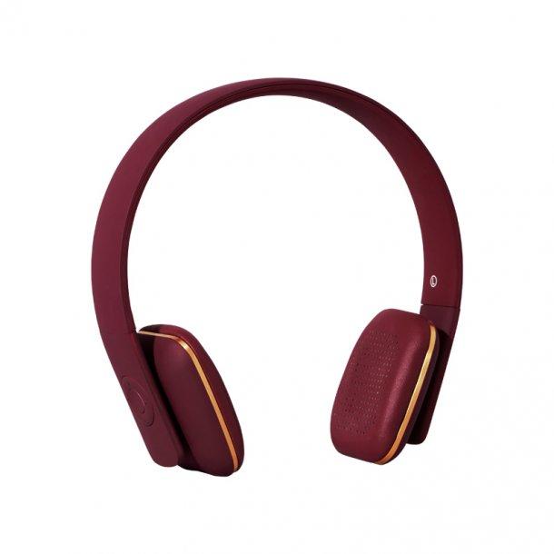 Kreafunk høretelefon - aHead - plum