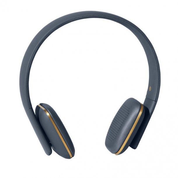 Kreafunk høretelefon - aHead - blå