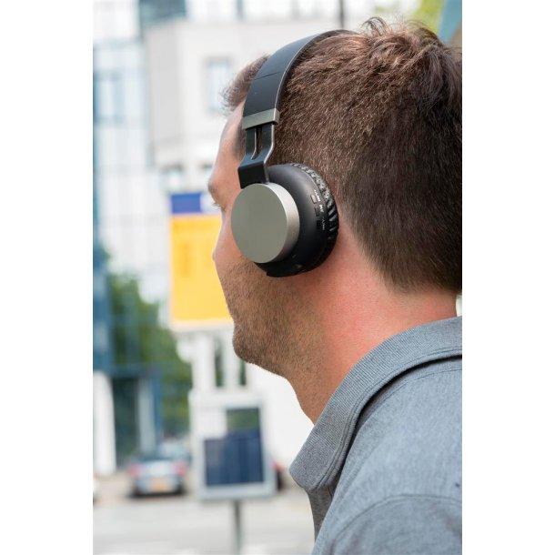 Foldbar trådløs hovedtelefon - SwissPeak