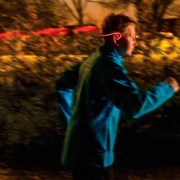 Trådløs løbe hovedtelefon med LED