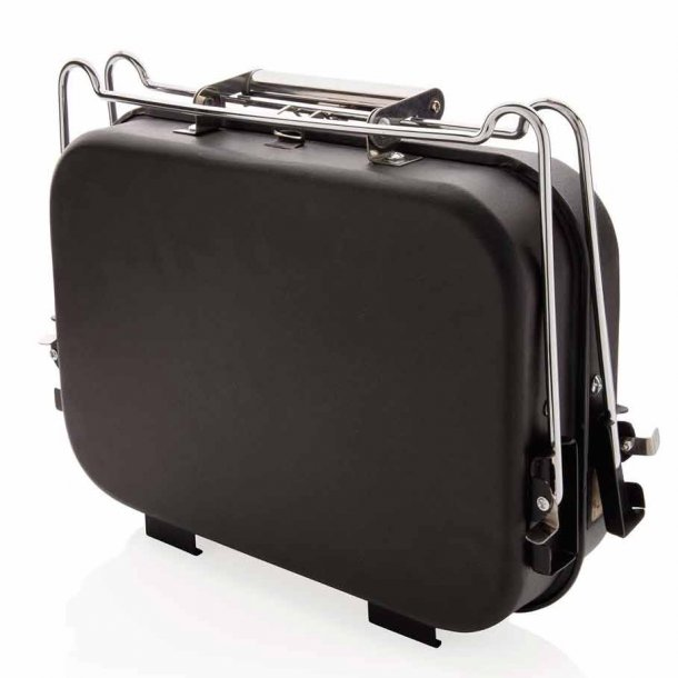 Bærbar deLuxe grill i kuffert