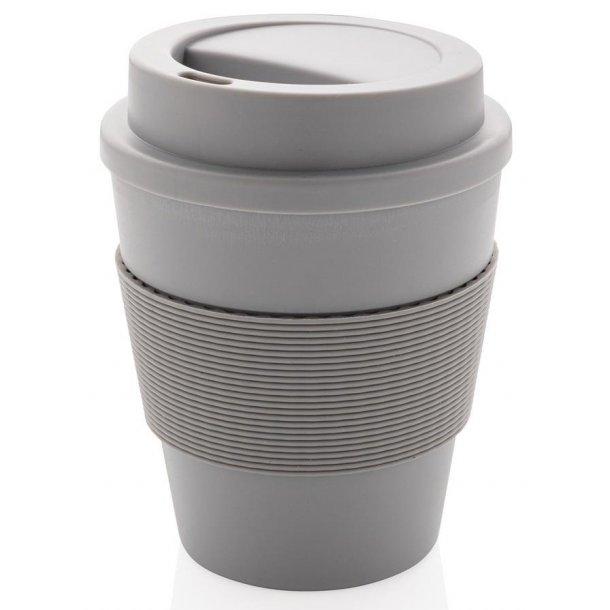Kaffekop med skruelåg