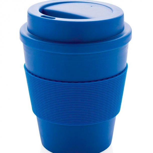Genbrugelig kaffekop med skruelåg, 350 ml.