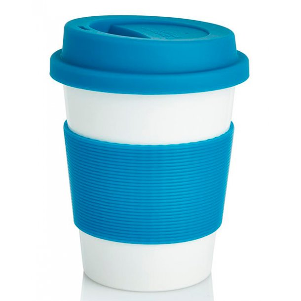 Kaffekop - 100% biologisk materiale - blå