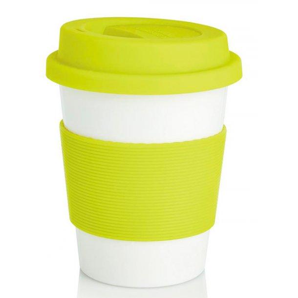 Kaffekop - 100% biologisk materiale - limegrøn