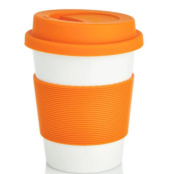 Kaffekop - 100% biologisk materiale - orange