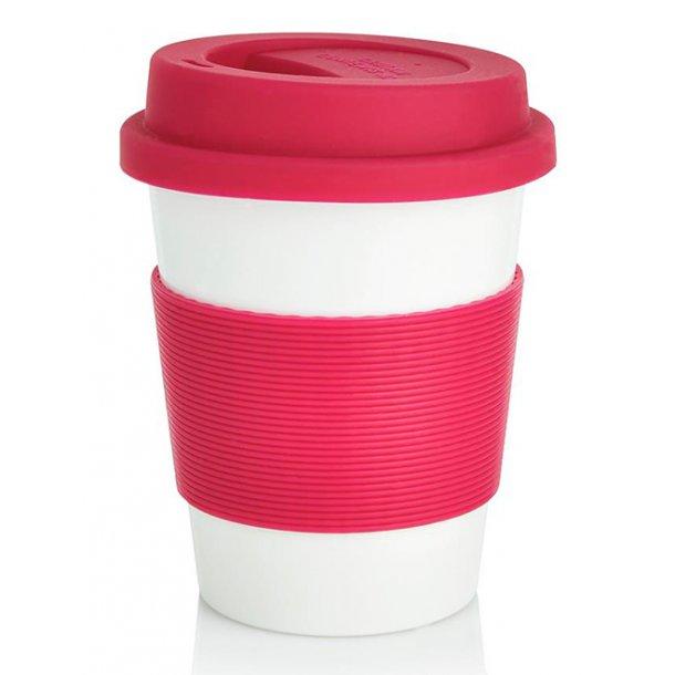 Kaffekop - 100% biologisk materiale - lyserød
