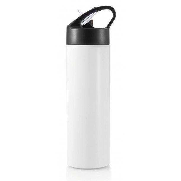 Sport drikkeflaske med sugerør - BPA fri rustfristål