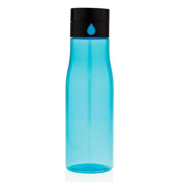 Drikkeflaske med væske indikator