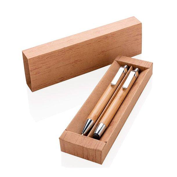 Bambus penne sæt - miljø rigtigt produkt