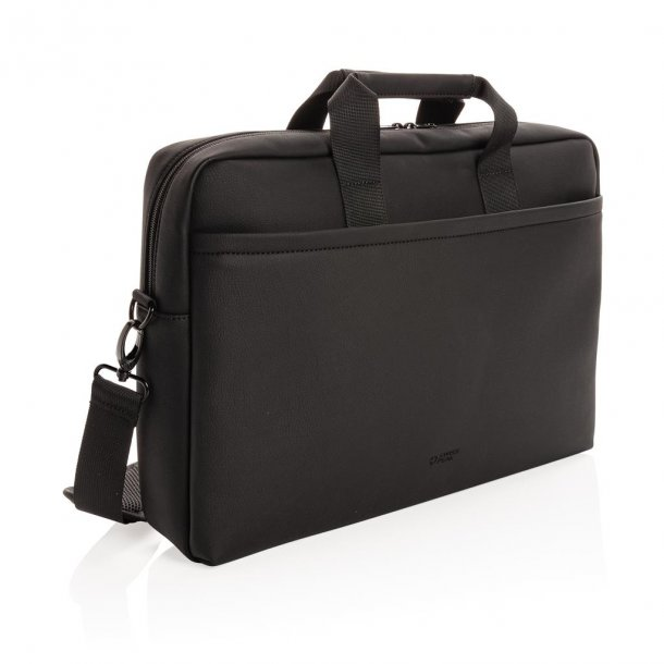 Swiss Peak luksus laptoptaske i vegansk læder - PVC fri