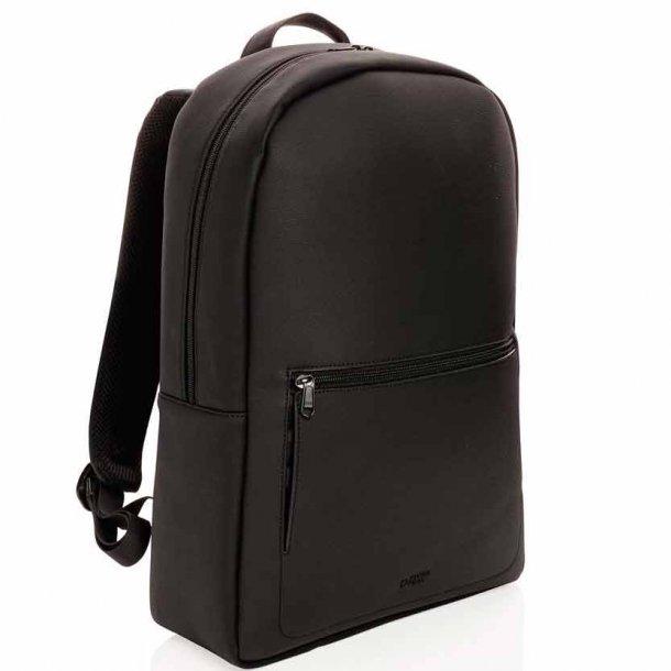 Swiss Peak luksus vegansk læder laptop rygsæk