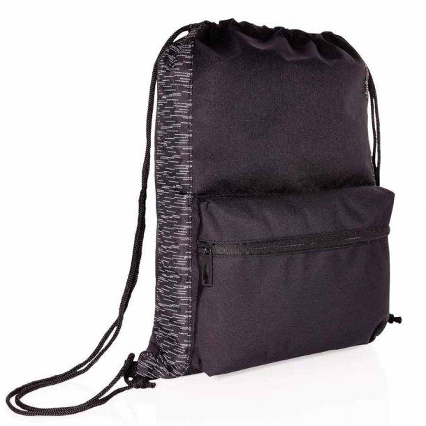 Rpet rygsæk med snortræk og Aware tracer