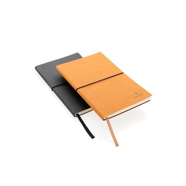 Notesbog i genbrugslæder - A5