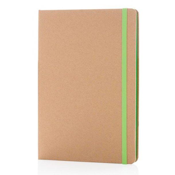 ECO A5 kraft notesbog