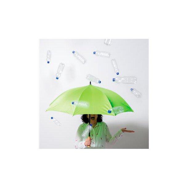 Paraply fremstillet af genbrugs plastflasker RPET