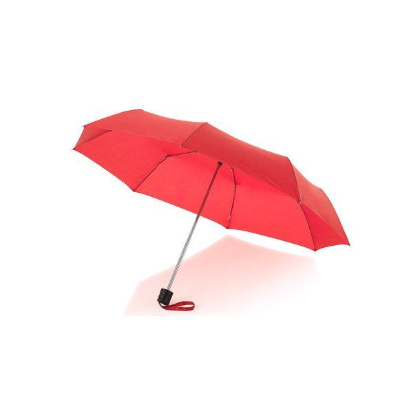 Taske paraply - Ida - 3 sektioner - flere farver
