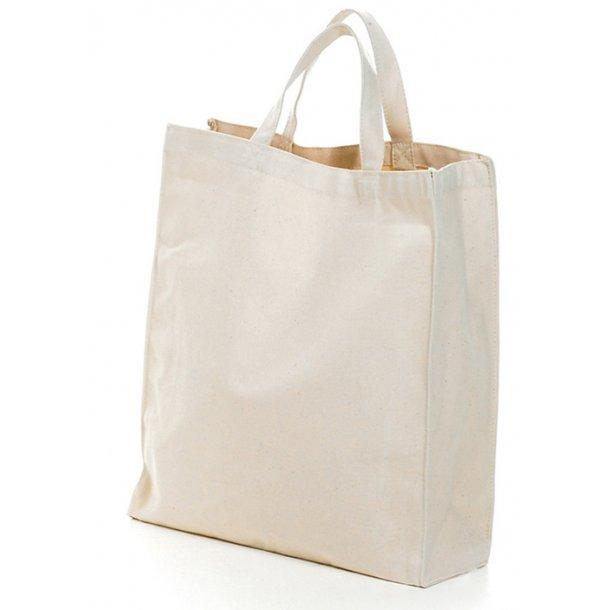 Mulepose med bred bund