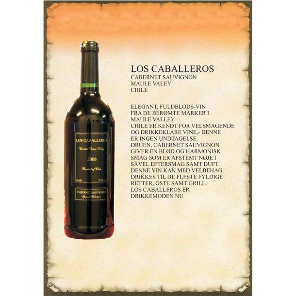 Los Caballeros rødvin