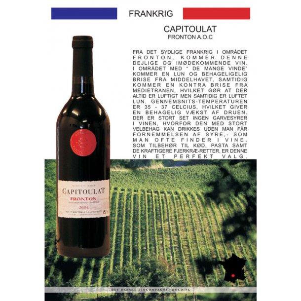 Capitoulat rødvin