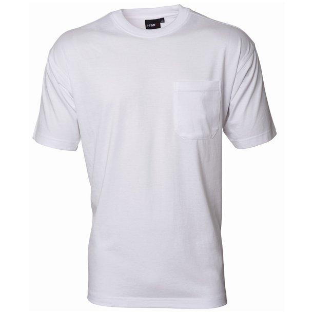 T-shirt med brystlomme