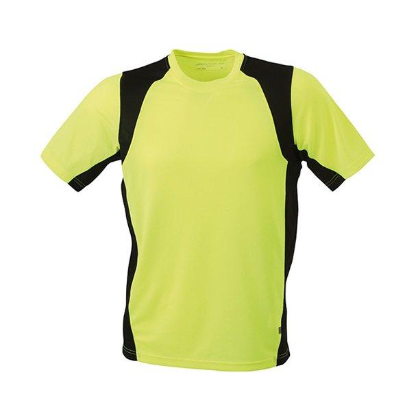 Løbe T-shirt - James & Nicholson